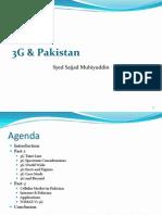 Presentation by Syed Sajjad Muhiyuddin