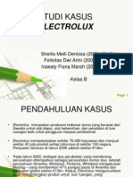 Chapter 1- electrolux
