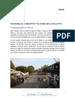 334. Tecnne. Tschumi El Concepto y El Parc de La Villette