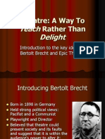 brecht powerpoint dp theatre