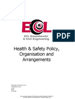 ECL Health & Safety Policy 2nd March 09