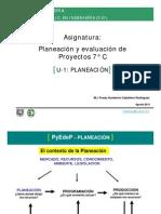 Planeacion y eva de proyectos 7°C