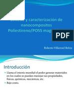Síntesis y caracterización de nanocompositos Poliestireno