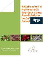 Estudio Sobre La Reconversion Energetica Para Beneficiadores de Cafe en El Salvador