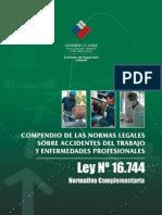 Compendio Ley 16.744 - 19.345 - 20.123 y DS 101 - 109 - 594 - 40 - 54 - 110 - 67 - 313 - 76