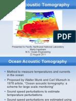 OceanAcousticTomography