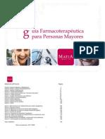 Guia Farmaco Terapeutica Para Personas Mayores