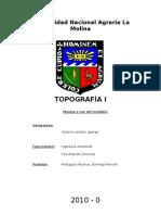 Trabajo de Topografia Manejo y Uso Del Teodolito