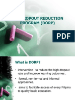 Dropout Reduction Program (DORP)