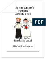 Wedding Fun Book