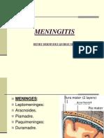 Meningitis Farmacologia