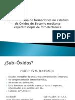 Estudio de la Oxidación de Superficies de Zr.pptx