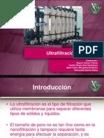Ultrafiltración