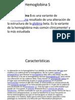 Hemoglobina S