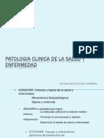 Patologia Clinica de La Salud y Enfermedad