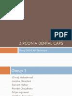 Zirconia Dental Caps