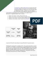 Apuesta de Pascal tarea 1