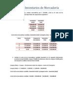 Sistema de Inventarios de Mercadería