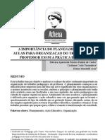 A IMPORTÂNCIA DO PLANEJAMENTO DAS AULAS