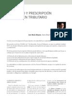 Caducidad y Prescripcion en El Ambito Tributario