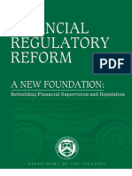 Financial Regulatory Reform 2009