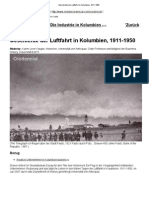 Geschichte Der Luftfahrt in Kolumbien, 1911-1950