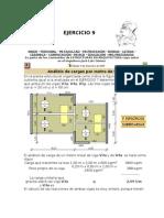 Analisis de Cargas Por Metro de Viga 2009