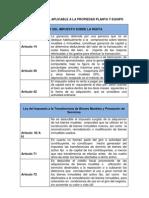 Base Legal Propiedad Planta y Equipo