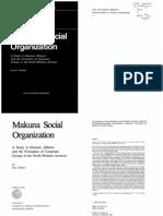 Makuna Social Organization