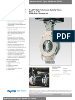 Keystone F360 and F370 Series High Performance Butterfly Valve