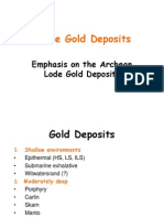 Gold Deposits