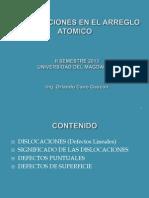 Imperfecciones en El Arreglo Atomico V2