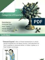 Deemed Exports_Type of Exporters_SFTM