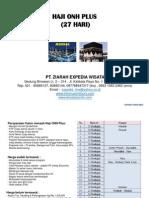 Haji Onh Plus 2014