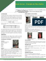 Poster - Condutores de Luz - Princípio da Fibra Óptica