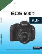 Manual EOS 600d