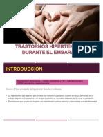 Trastornos Hipertensivos Durante El Embarazo