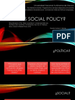 What is Social Policy Presentacion