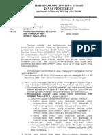 Surat Pemberitahuan Validasi Bos Sm Dan Bkm Apbnp 2013