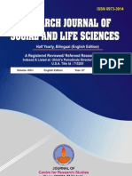 research journal of  social and life science volume-14-1