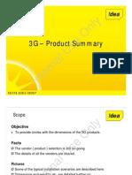 3 g Product Summary