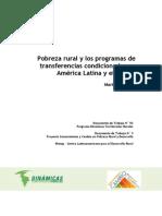 N92 2011 Pobreza Rural Programas Transferencias Condicionadas Rangel