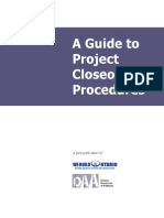 Project Closure Procedures