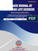 research journal of social and life science volume-14