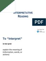 Interpretative Antibiotype Reading