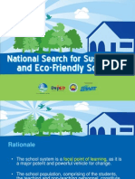 National Search for Sustainable Eco-Friendly Schools