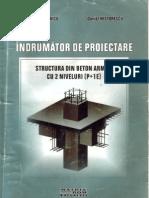 Structura Din Beton Armat Cu 2 Niveluri - Indrumator de Proiectare - Postelnicu-An 2001