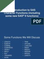 Sas Functions Char