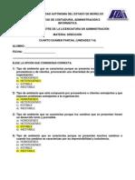 CUARTO  EXAMEN PARCIAL (UNIDADES 7-8) (SOLUCIÓN)