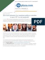 Panel Elecciones Primarias ValenciaPlaza - 11septiembre2013